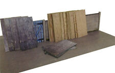 63 SHEETS OF 8ft x 4ft PLYWOOD FOR OO GAUGE 1:76 MODEL RAILWAY BUILDINGS AX005