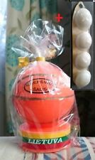 Handmade Candle Basketball LITHUANIA *NEW* + Floating Candles