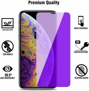 for iPhone 11 PRO / iPhone X/XS Anti-Blue Light Screen Protector Tempered Glass