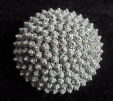 Vintage / antique jewellery brooch mesh backed raised stubble design 11361