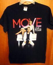 DEREK HOUGH & JULIANNE small T shirt Move tee Live on Tour dance 2014