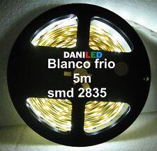 Tira Led 5M 300 led SMD 2835 BLANCO FRIO INTERIOR