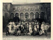 Prinzessin Elisabeth v.Schaumburg-Lippe im Lazarett Paulinenschlößchen c.1915