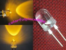 20 x 10mm 0.5W Yellow 155,000MCD 40°Large Chip Ultra Bright Water Clear LED Leds