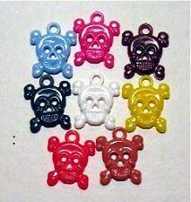 Skull Crossbones 24 Gumball Vending Charms Old Stock