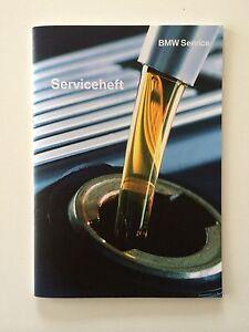 BMW Orig. Service Heft Serviceheft Book E81,E87 1er E90.E91,E92 3er deutsch