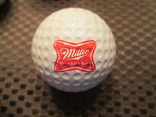 LOGO GOLF BALL-MILLER HIGH LIFE BEER....VINTAGE ROYAL BALL...