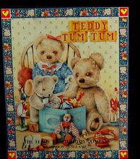 Teddy Tum Tum Mama, Papa & Baby Bear Tin Wall Hanging London England
