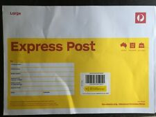 10 x B4 Large Prepaid EXPRESS Document Envelope Aust Post with EXPRESS DELIVERY