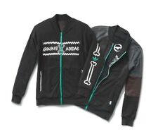 nwt~Adidas KROOKED REVERSIBLE Track Top sweat shirt superstar Jacket~Mens sz 2XL