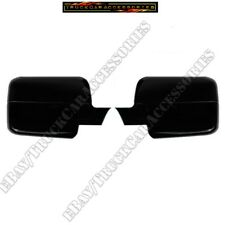 For FORD F150 F-150 2004 2005 2006 2007 2008 BLACK FULL Mirrors Mirror Covers