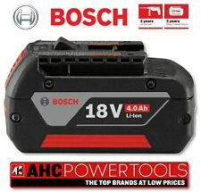 Bosch 18v 4.0ah Li-ion Battery Pack (Cool Pack) with indicator, New Genuine UK