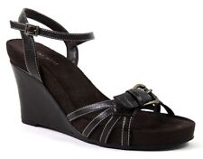 Nine West Women's Ardijanazu Wedge Sandals Brown Size 7.5 M