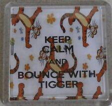 Tigger - Keeo calm and Bounce with tigger coaster