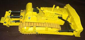 Vintage Gescha Caterpillar D9G Dozer w/ Ripper 1:50