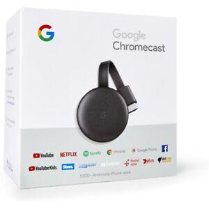 GENUINE Google Chromecast 3 Chrome Cast WiFi Digital Media Video Stream HD TV