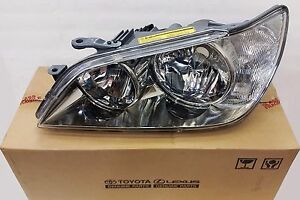 LEXUS OEM FACTORY DRIVERS HEADLAMP LENS & HOUSING 2001-2003 IS300 81185-53041