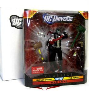 DC Universe Classics 2 Pack Mad Love Joker Harley Quinn NIB Mattel