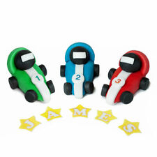 RACING CAR cake decoration toppers boy edible personalised