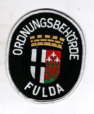 Aufnäher Patch Ordnungsbehörde Ordnungsamt Fulda