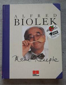 Alfred Biolek Meine Rezepte Kochbuch Kochen alfredissimo Rezept-Sammlung Buch