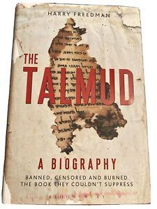 Talmud Hardcover Book Jews Judaism Secrets Exposed Banned Rare Hardback True