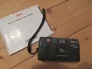 Leica mini mit Leica Elmar 1:3,5/35, schwarz, mit Bedienungsanleitung