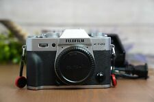 Fujifilm X-T20 24.3MP Mirrorless Digital Camera - Silver (Body Only) w/Charger