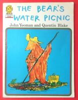 THE BEAR'S WATER PICNIC BY JOHN YEOMAN QUENTIN BLAKE PB PICTURE LIONS BOOK 1974
