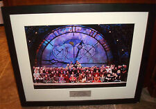 Wicked The Musical Broadway Australia Company 2008 Cast & Crew Framed Picture
