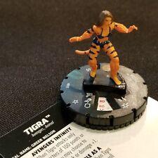 TIGRA - 018 - Uncommon Figure Heroclix Avengers Infinity Set #18