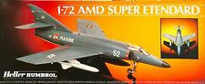 Heller Humbrol 1:72 Amd Super Etendard Plastic Aircraft Model Kit #80360