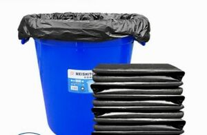 100 Count Heavy Duty Trash Bags 33 Gallons, 1.8mil. 33x39 Inch