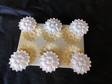 Plaster Flower Petals Used Silicone Rubber Mould Makes Six Petals Diy Projects