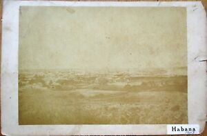 Habana/Havana, Cuba 1903 Panoramic Photograph / Birdseye View