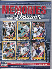 Mike Mussina 2019 Hall of Fame Program/induction Postcard Stamped