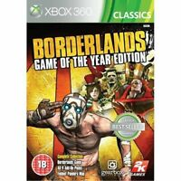 Xbox 360 - Borderlands Game of the Year Edition **New & Sealed** Xbox Series X