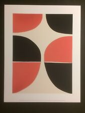 TERRY FROST, 'June, Red and Black' mini print, Tate Modern gallery,
