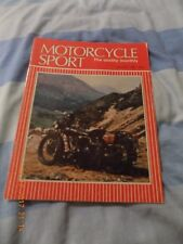 Motorcycle Sport/oct 1982/honda cb450/brough superior story/mz collection/