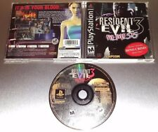 Resident Evil 3: Nemesis ☆☆ Complete w/ MINT CASE ☆☆ - PS1 Playstation 1 [S]