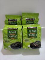 Seaweed Snack Organic Sesame Roasted (Kirkland Signature) 4 packs special.