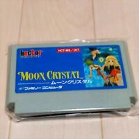 Moon Crystal NES Nintendo Famicom FC Game Cartridge Japan Good Condition