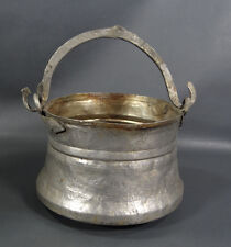 Antique Orthodox Wedding Ceremony Bridal Flowers Kettle Holy Water Copper Basket