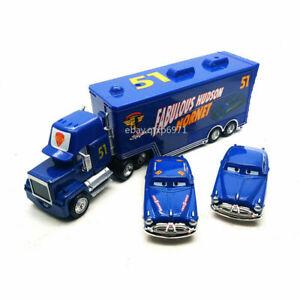 Disney Pixar Cars Fabulous Doc Hudson Truck 1:55 Diecast Model Toy Car Kids Gift
