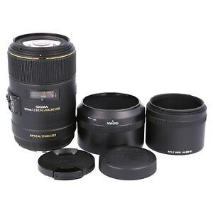 Sigma 105mm f2.8 DG Macro HSM OS for Canon EF EOS 650D 70D 6D 5D IV 7D 760D 1Ds