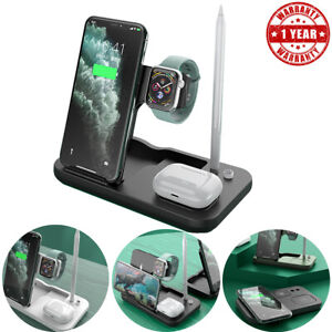 4in1 Fast Charge Wireless Charging Stand for iPhone 11/11Pro/XS/Max Watch Pencil