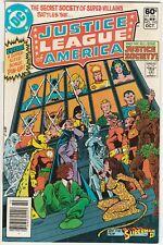 Justice League of America Set #195-197 1981 Justice Society Super-Villains Perez