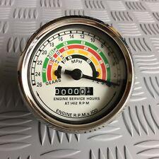 Fordson Dexta, Super Dexta/Major Tractor Tachometer / Rev Counter / Hour Meter.
