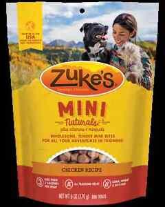 Zukes Mini Naturals - Multiple Flavors & Sizes Dog Treat Snacks