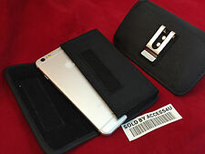 """HORIZONTAL HEAVY DUTY NYLON HOLSTER BELT CLIP POUCH CASE FOR IPHONE 7 PLUS 5.5"""""""